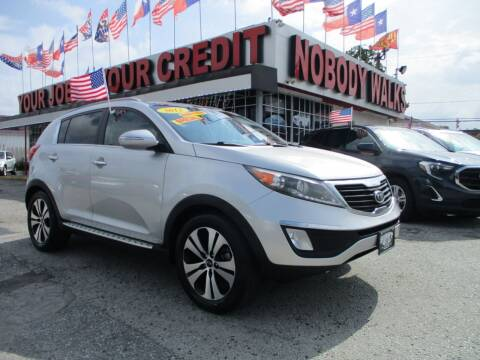 2012 Kia Sportage for sale at Giant Auto Mart 2 in Houston TX