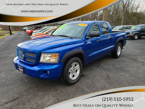 2008 Dodge Dakota for sale at Valpo Motors 1 and 2  Best Deals On Quality Wheels in Valparaiso IN