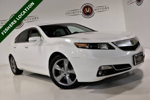 2012 Acura TL for sale at Unlimited Motors in Fishers IN