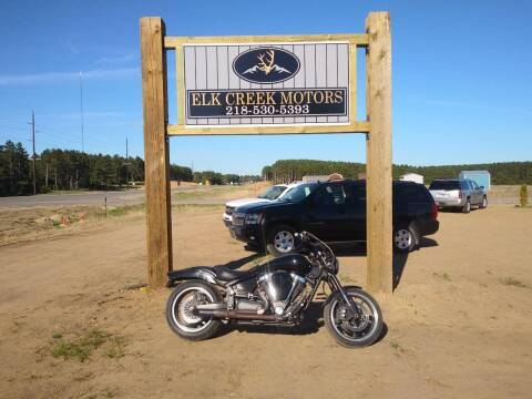 2008 Yamaha Warrior for sale at Elk Creek Motors LLC in Park Rapids MN