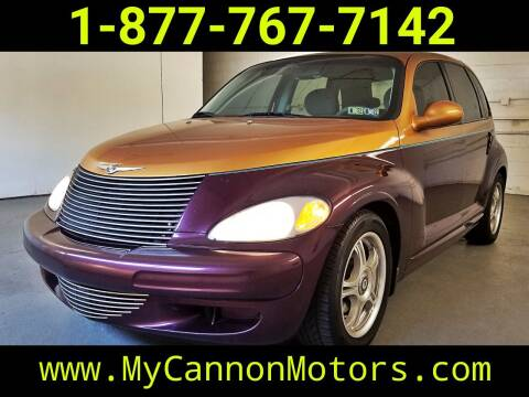 2001 Chrysler PT Cruiser for sale at Cannon Motors in Silverdale PA