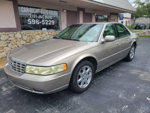2003 Cadillac Seville for sale at CAR-RIGHT AUTO SALES INC in Naples FL