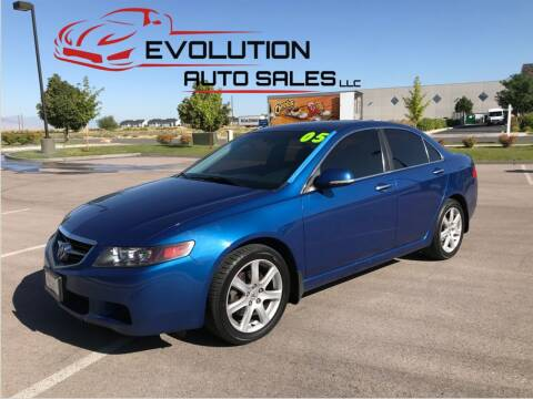 2005 Acura TSX for sale at Evolution Auto Sales LLC in Springville UT