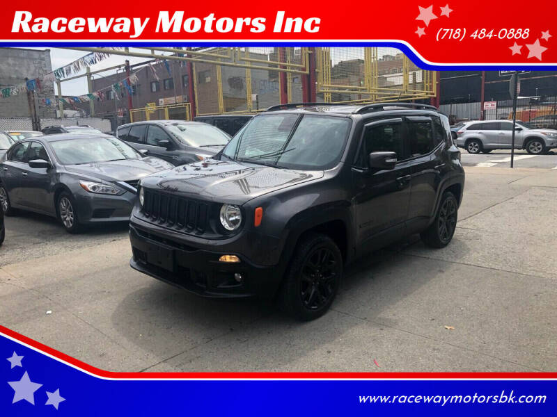2016 Jeep Renegade for sale at Raceway Motors Inc in Brooklyn NY