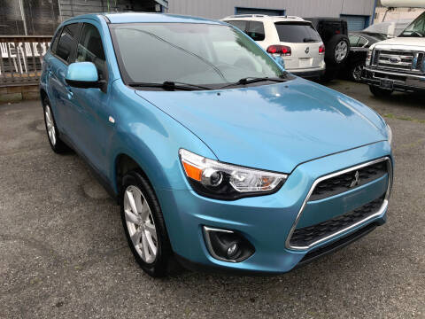 2014 Mitsubishi Outlander Sport for sale at Autos Cost Less LLC in Lakewood WA
