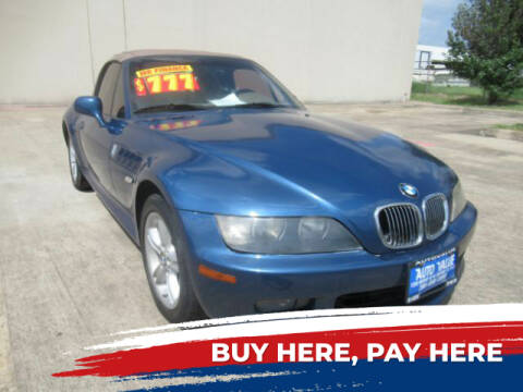2001 BMW Z3 for sale at AUTO VALUE FINANCE INC in Stafford TX