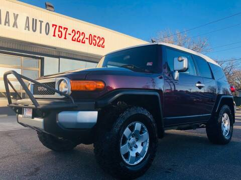2007 Toyota FJ Cruiser for sale at Trimax Auto Group in Norfolk VA