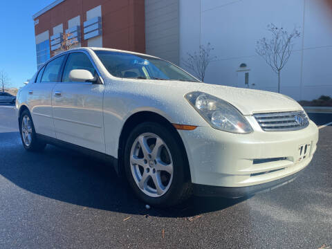 2004 Infiniti G35 for sale at ELAN AUTOMOTIVE GROUP in Buford GA