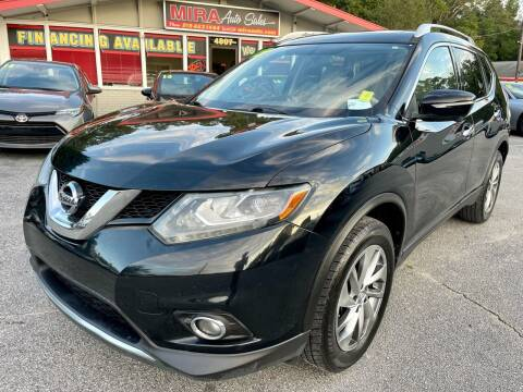 2015 Nissan Rogue for sale at Mira Auto Sales in Raleigh NC