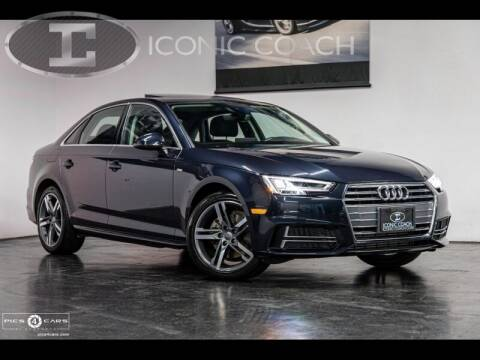 2018 Audi A4 for sale at Iconic Coach in San Diego CA