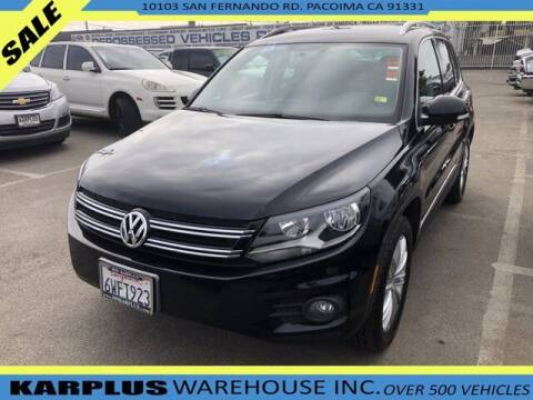 2012 Volkswagen Tiguan for sale at Karplus Warehouse in Pacoima CA