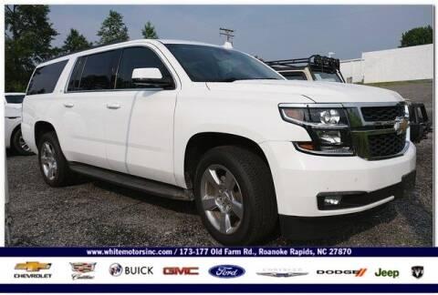 2016 Chevrolet Suburban for sale at WHITE MOTORS INC in Roanoke Rapids NC