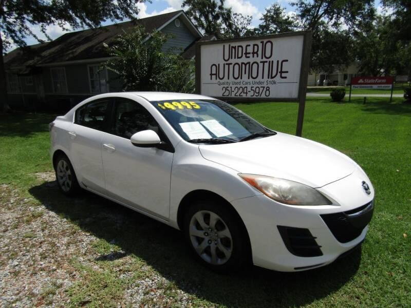 2010 Mazda MAZDA3 for sale at Under 10 Automotive in Robertsdale AL
