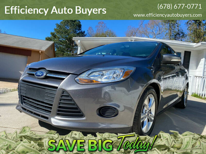 2014 Ford Focus for sale at Efficiency Auto Buyers in Milton GA