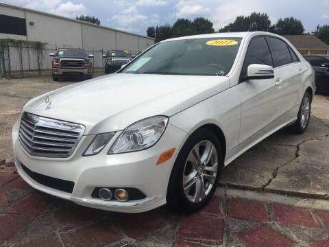 2011 Mercedes-Benz E-Class for sale at CAPITOL AUTO SALES LLC in Baton Rouge LA