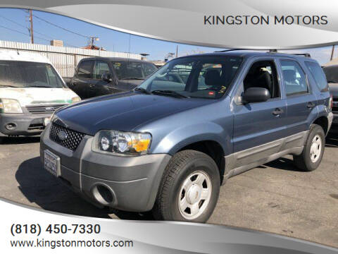2006 Ford Escape for sale at Kingston Motors in North Hollywood CA