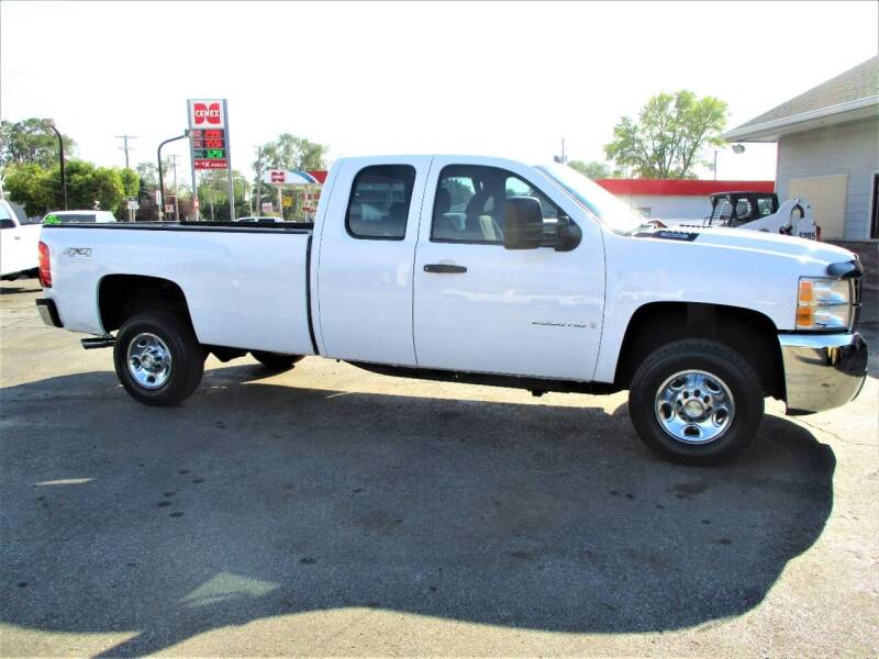 2008 Chevrolet Silverado 2500HD for sale at Steffes Motors in Council Bluffs IA