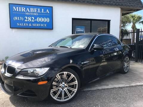 2011 BMW M3 for sale at Mirabella Motors in Tampa FL