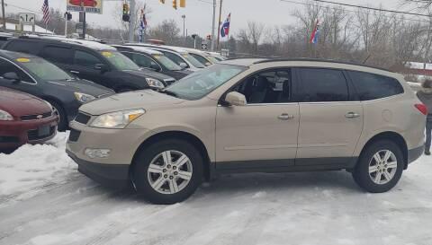 2011 Chevrolet Traverse for sale at Superior Motors in Mount Morris MI