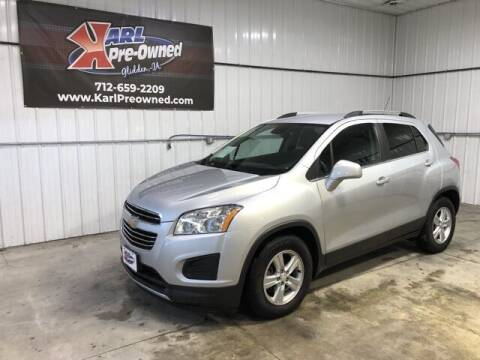 2016 Chevrolet Trax for sale at Karl Pre-Owned in Glidden IA