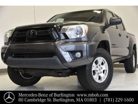2013 Toyota Tacoma for sale at Mercedes Benz of Burlington in Burlington MA