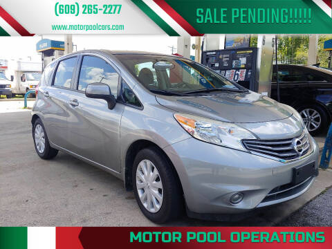 2014 Nissan Versa Note for sale at Motor Pool Operations in Hainesport NJ