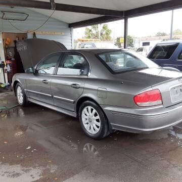 2002 Hyundai Sonata for sale at Easy Credit Auto Sales in Cocoa FL