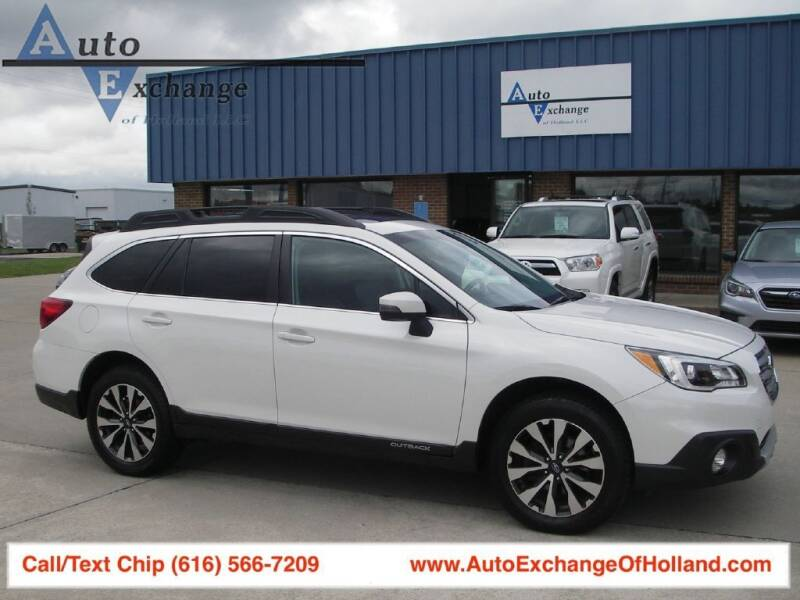 2016 Subaru Outback for sale at Auto Exchange Of Holland in Holland MI