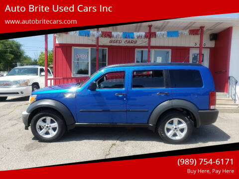 2007 Dodge Nitro for sale at Auto Brite Used Cars Inc in Saginaw MI