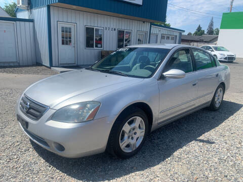 2002 Nissan Altima for sale at Independent Auto Sales in Spokane Valley WA