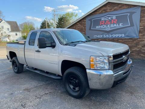 2009 Chevrolet Silverado 2500HD for sale at Rick's R & R Wholesale, LLC in Lancaster OH