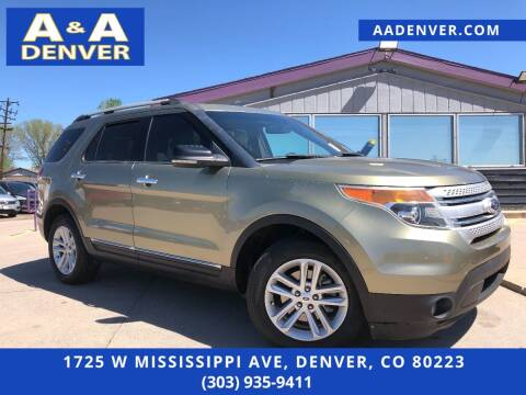 2013 Ford Explorer for sale at A & A AUTO LLC in Denver CO