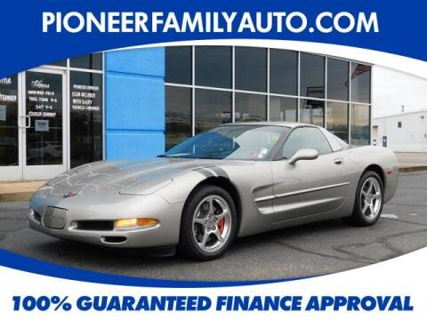 1999 Chevrolet Corvette for sale at Pioneer Family Preowned Autos in Williamstown WV