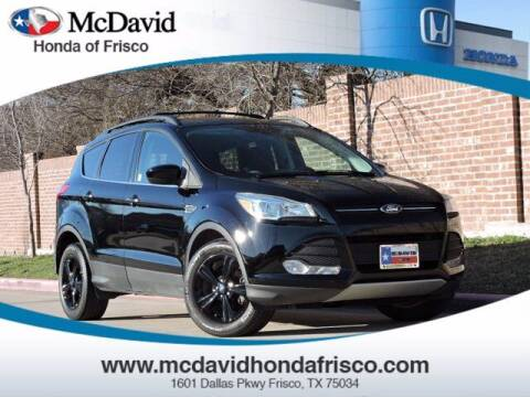 2016 Ford Escape for sale at DAVID McDAVID HONDA OF IRVING in Irving TX