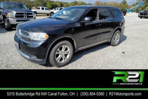 2013 Dodge Durango for sale at Route 21 Auto Sales in Canal Fulton OH