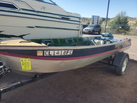 Homemade Boat And Trailer  for sale at PYRAMID MOTORS - Fountain Lot in Fountain CO