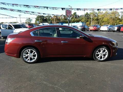 2013 Nissan Maxima for sale at Kenny's Auto Sales Inc. in Lowell NC