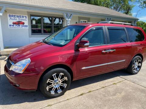 2012 Kia Sedona for sale at Brewer's Auto Sales in Greenwood MO