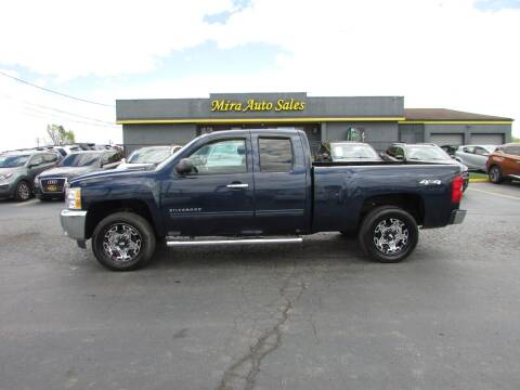 2012 Chevrolet Silverado 1500 for sale at MIRA AUTO SALES in Cincinnati OH