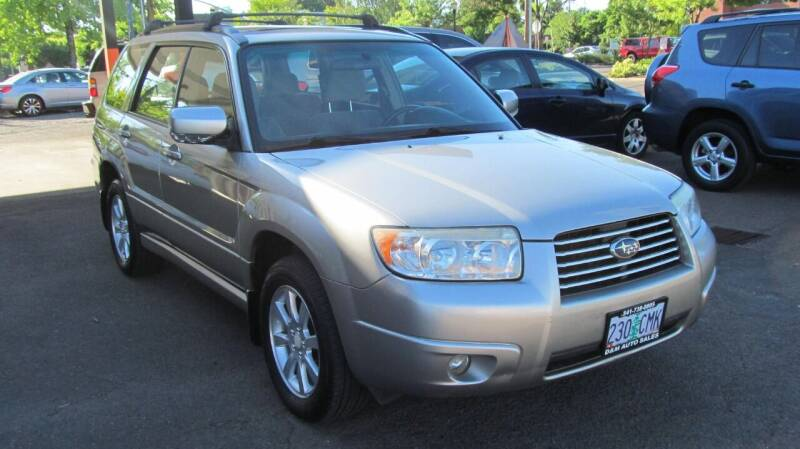 2006 Subaru Forester for sale at D & M Auto Sales in Corvallis OR