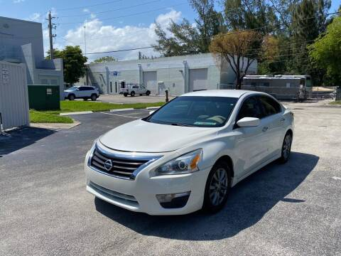 2015 Nissan Altima for sale at Best Price Car Dealer in Hallandale Beach FL