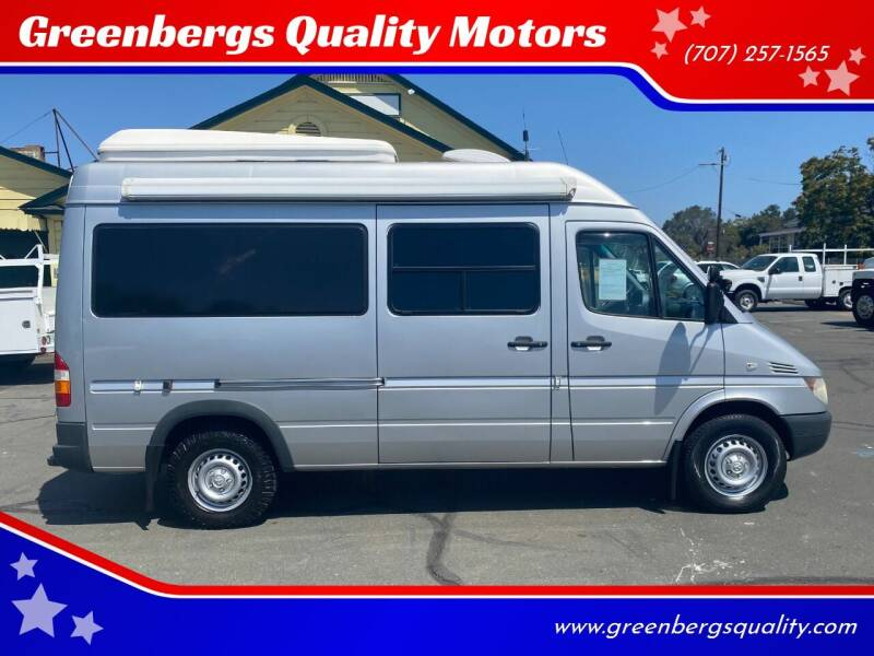 2005 Dodge Sprinter Cargo for sale at Greenbergs Quality Motors in Napa CA