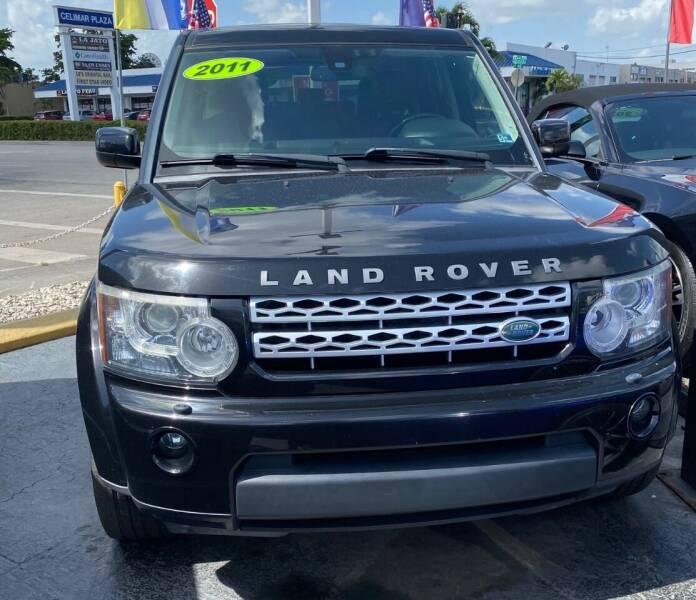 2011 Land Rover LR4 for sale at Navarro Auto Motors in Hialeah FL
