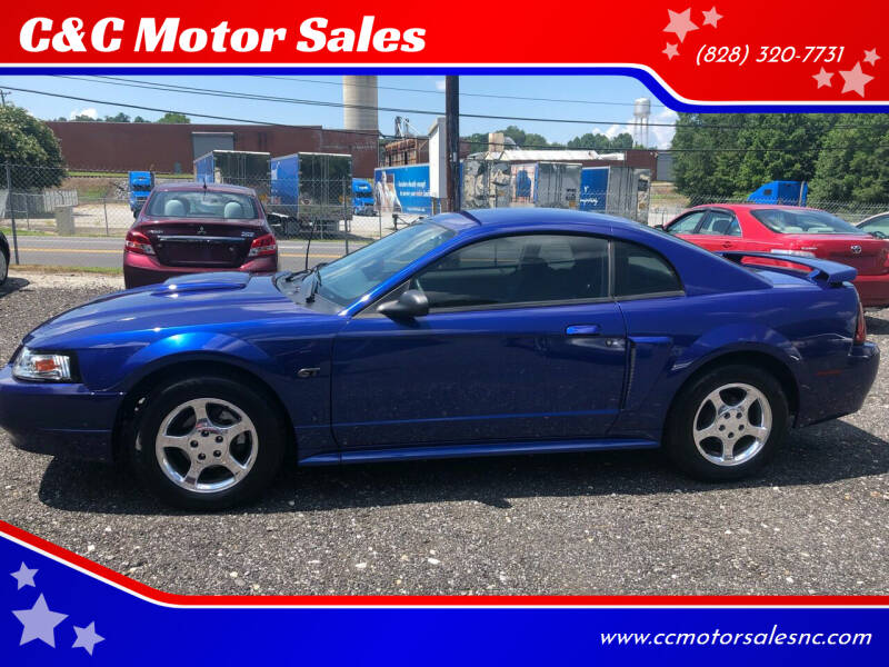 2003 Ford Mustang for sale at C&C Motor Sales LLC in Hudson NC