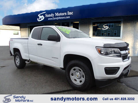 2017 Chevrolet Colorado for sale at Sandy Motors Inc in Coventry RI