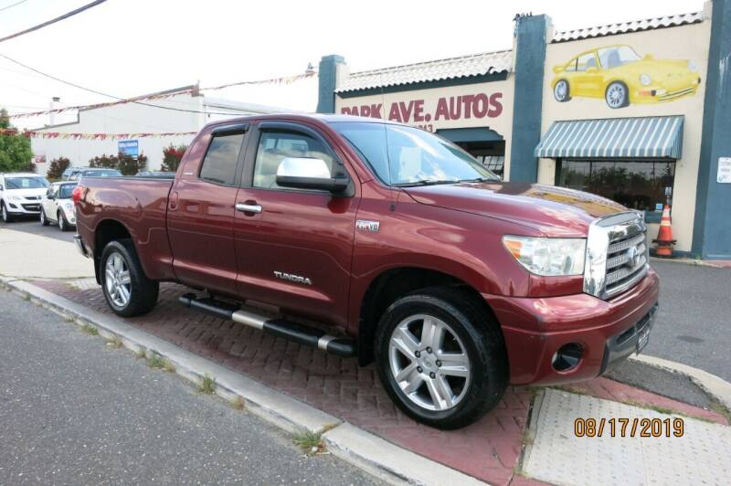 2007 Toyota Tundra for sale at PARK AVENUE AUTOS in Collingswood NJ