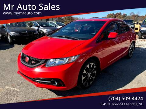 2013 Honda Civic for sale at Mr Auto Sales in Charlotte NC