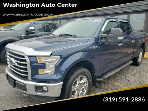2016 Ford F-150 for sale at Washington Auto Center in Washington IA