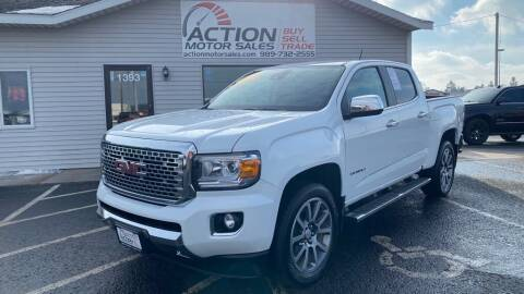 2018 GMC Canyon for sale at Action Motor Sales in Gaylord MI