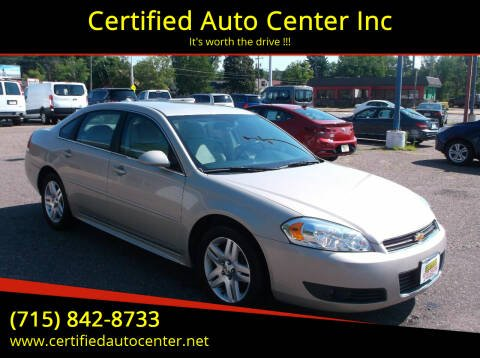 2010 Chevrolet Impala for sale at Certified Auto Center Inc in Wausau WI